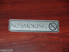 No Smoking Sign Front door signs 10 colors Engraved