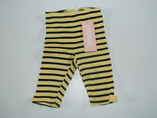 NWT GYMBOREE CUTE AS CAN  BEE STRIPE PANTS LEGGINGS 0 3