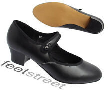 *NEW* SOFT PU CUBAN HEEL CHARACTER SHOES SIZE 1 up to 8
