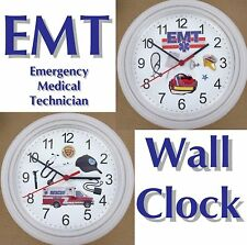 EMT Wall CLOCK Emergency Medical Technician Medic AMBULANCE Healthcare New