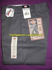 Dickies Mens 874 CH Traditional Original Fit Straight Leg Work Pant Charcoal New