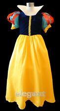 Snow White Girls Princess Costume Dress Gown Age 1-9