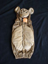 NWT GYMBOREE HALLOWEEN MONKEY COSTUME HOODED VEST 0 3