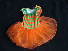 NWT GYMBOREE HALLOWEEN PUMPKIN FAIRY COSTUME WINGS 6 12