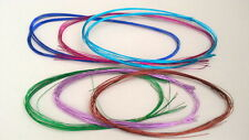 Metalic Craft Wire 1mm 10pcs Many Colours Crafts Flower Scrapbooking Kids