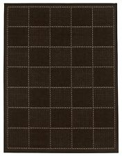 Checked Flatweave Rug Black Various Sizes from £16.49.