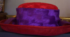 Red Hat Society Ladies dress hats - one size