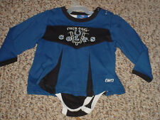 24 MONTHS CHILD/TODDLER COLTS CHEERLEADING OUTFIT NFL REEBOK