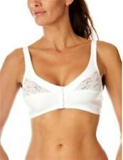 Naturana Satin/Lace Cup Front Fastening Bra 34-44 B,C,D,DD Cups