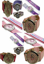BRAND NEW GIRLS LILAC DOLPHIN/ PINK LEATHER STRAP/PINK, LILAC SURF VELCRO STRAP