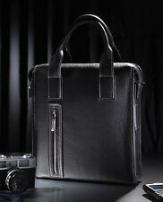 Men's Genuine Leather Shoulder Briefcase Laptop elegant Handbag Purse Casual BAG