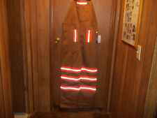 REFLECTIVE BIB OVERALLS ORANGE STRIPES