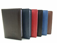 MENS LADIES SUPERIOR QUALITY SOFT REAL LEATHER CREDIT CARD HOLDER PURSE WALLET