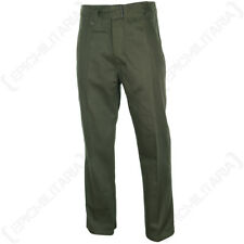 GERMAN ARMY DAK AFRICA KORPS Olive Green Trousers - WW2 Repro All Sizes