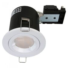 Fire Rated Low Energy GU10 Recessed Office Ceiling Downlight Spot Light White