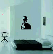 Rude Copper Vinyl Wall Sticker art decal large picture graphics banksy policeman