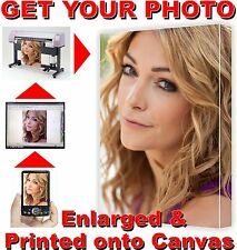 Enlarge Your DIGITAL PICTURE PHOTO & Print onto Canvas Full Colour