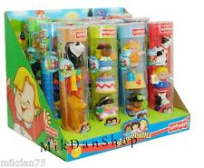 Fisher Price World Of Little People Figures Set in Tubes