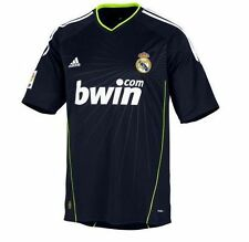 adidas Real Madrid 2010-2011 Away Soccer Jersey Brand New Black