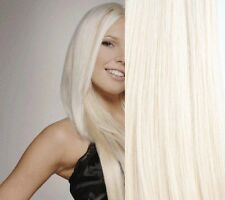 CLIP ON HUMAN HAIR EXTENSIONS DELUXE SET ALL LENGTHS #60 220 GRAMS OF HAIR!