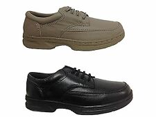 Mens Dr Keller Wide Fit Lace Up Leather Comfort Casual Work Shoes Size- Brian