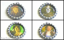 Wizard Of Oz Bottlecaps with jump rings -For Scrapbooking/Cardmaking/Jewellery