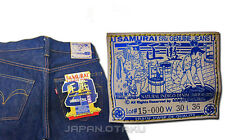 LIMITED 超 HEAVY WEIGHT SAMURAI JEANS 24OZ S5000AI JAPANESE SUPER STOLONG DENIM