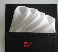 Pre-Folded Pocket Squares (Royal Rt. #2) & Handkerchiefs by cbelegance