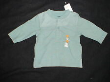 NWT GYMBOREE AVIATOR SCHOOL BLUE QUILITED TOP SHIRT