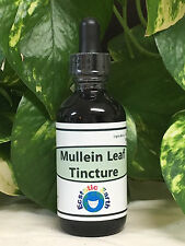 *ORGANIC* Mullein Leaf Tincture Extract Natural Remedy Herbal Expectorant Cough