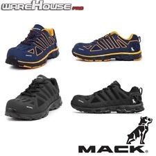New MACK Boots Vision Work Safety Shoes with Composite Toe~ Red/Blk Or Blue/Or