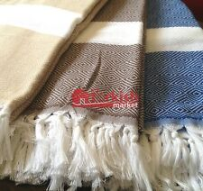 High Quality Turkish Diamond Peshtamals, Peshtemal, Turkish Towels for Beaches