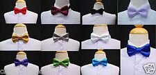 14 COLORS New BOW TIE for Children Toddler Boy Teen's Formal Suit & Tuxedo 1 sz