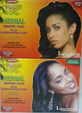 [HAWAIIAN SILKY] HERBAL SENSITIVE SCALP NO-LYE CONDITIONING RELAXER SYSTEM