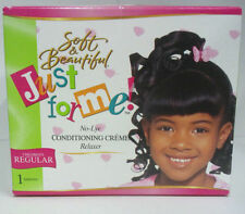 [SOFT & BEAUTIFUL] JUST FOR ME NO-LYE CONDITIONING CREME RELAXER KIT CHILDREN