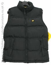 Caterpillar Mens Quilted Insulated w12430 Gilet Body repelant Warmer Cat Black