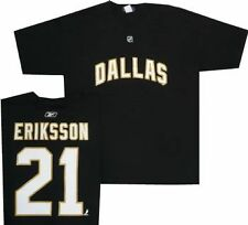 Dallas Stars Loui Eriksson Name and Number Black T Shirt