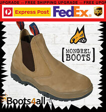 New Mongrel Work Boots Steel Toe Cap/Safety Tradie/Construction/Logistics 240040