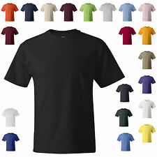 Hanes Beefy-T 5180 Cotton Tee S-3XL *22 COLORS* Blank Tee Shirt 100%