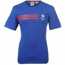 Official Product adidas Olympics LONDON 2012 Team GB Logo Men's Blue T-Shirt