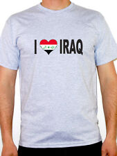 I Love Iraq T-Shirt - Mens - Various Sizes and Colours