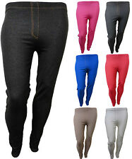 NEW PLUS SIZE LADIES  STRETCHY JEGGINGS TROUSERS LEGGINGS PANTS SIZES 14 TO 28