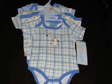 Duck Duck Goose Set of 5 Baby Bodysuits - Boys