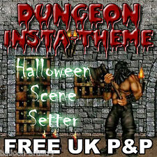 Halloween Horror Dungeon Dweller Scene Setter Decorations All In One Listing