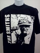 THE SMITHS MENS T-SHIRT MORRISSEY BAND NEW SIZE SM MED LG XL MEAT IS MURDER