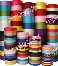 25 Yards Various Sizes Colors Satin Ribbon Wedding Party Decoration Sewing