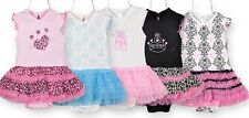 BOUTIQUE BABY GIRL/CHILD TUTU STYLE DRESS ROMPER SIZES 0-36 MONTHS