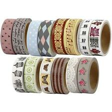 Cardmaking Masking Tape Floral Lace Craft Matt Self Adhesive Cards Embellishment