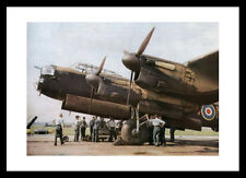 Lancaster Bomber 'Bombing Up' 1942  Aviation Print Memorabilia (311)