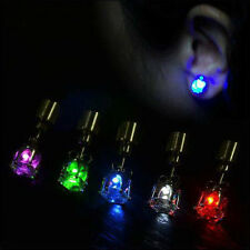 1 Pair LED earring Screw back stud for Birthday Xmas Party Multi-colors Optional